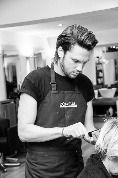 Tom - our newly qualified L'Oreal Professionnel Colour Specialist