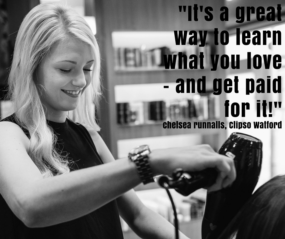'It's a great way to learn what you love - and get paid for it!