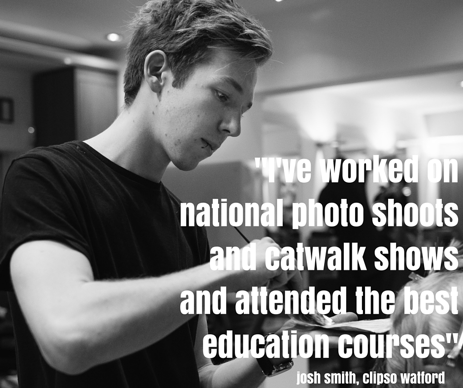 -I've worked on national photo shoots and catwalk shows and attended the best education courses-